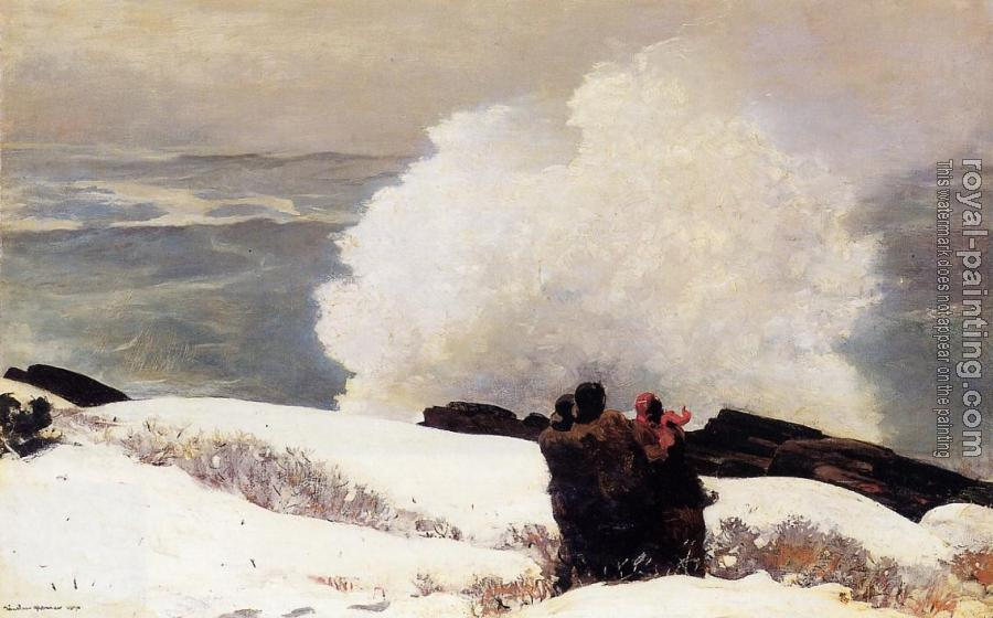 Winslow Homer : Watching the Breaker